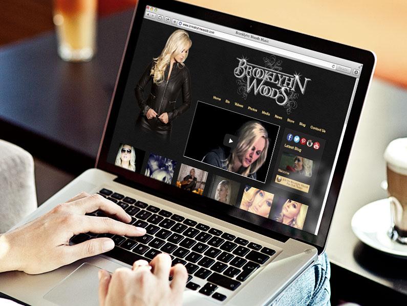 Brooklyhn Woods Website Design