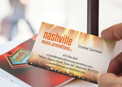 Nashville Music Promotions Branding & Website
