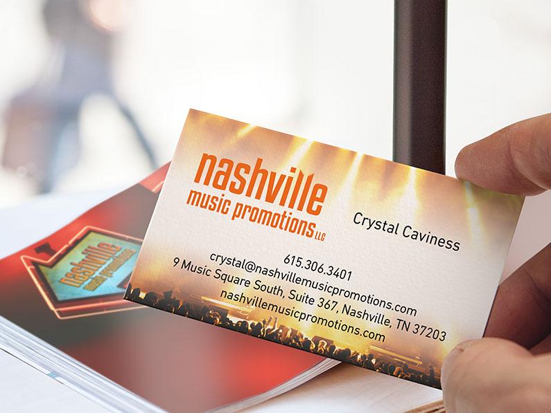 Nashville Music Promotions Branding & Website