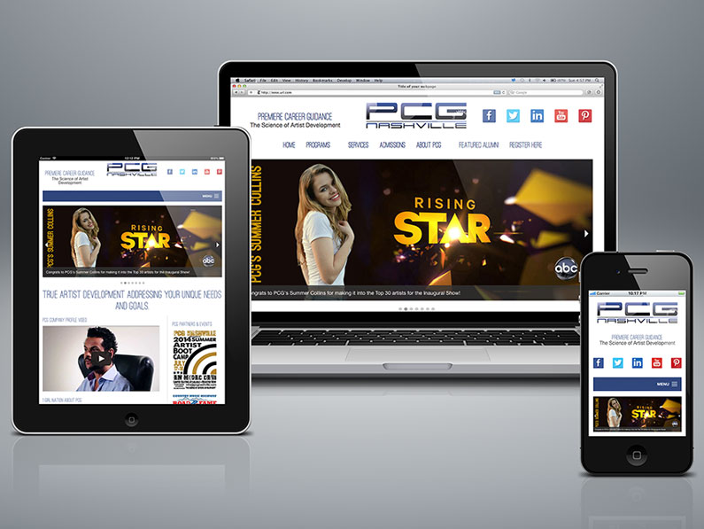 PCG Nashville Web Design